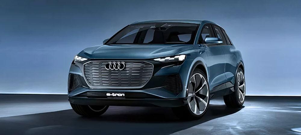 Audi Q4 e-tron concept car