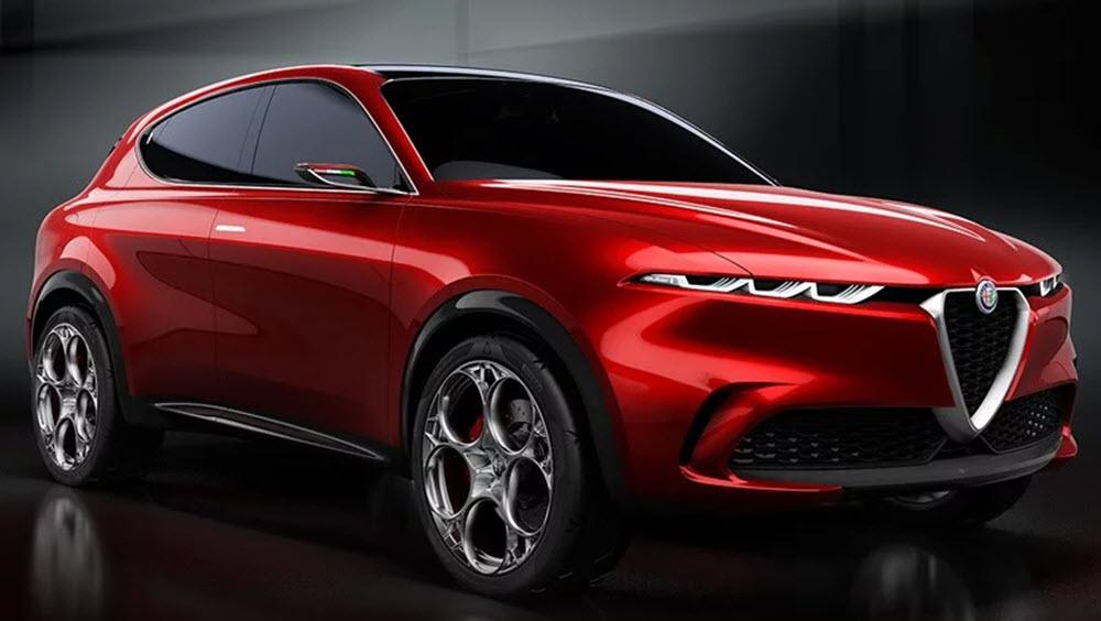 Alpha Romeo Tonale Concept Car