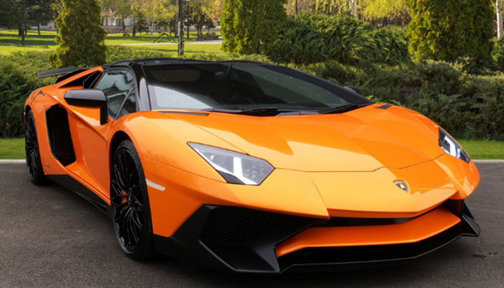 Lamborghini Aventador LP SV car