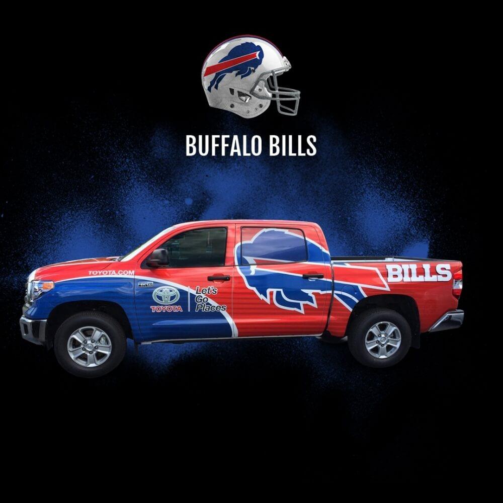 Buffalo Bills Fan Car