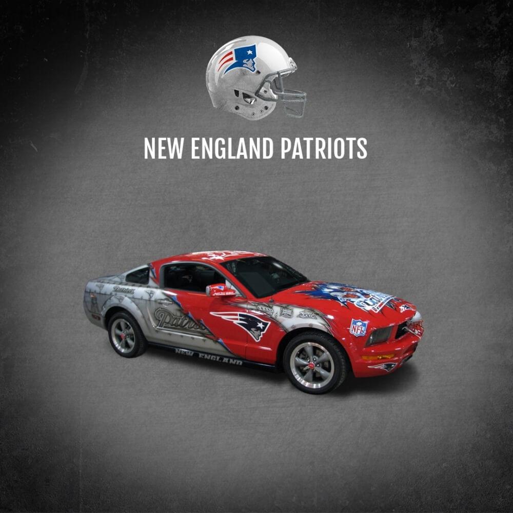 New England Patriots Fan Car